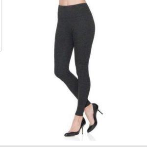 Spanx Ready To Wow Ponte Dark Gray Leggings